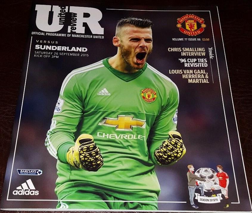 Manchester United | Sunderland AFC Programmes